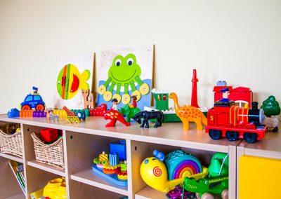 Množstvo hračiek pre zábavu