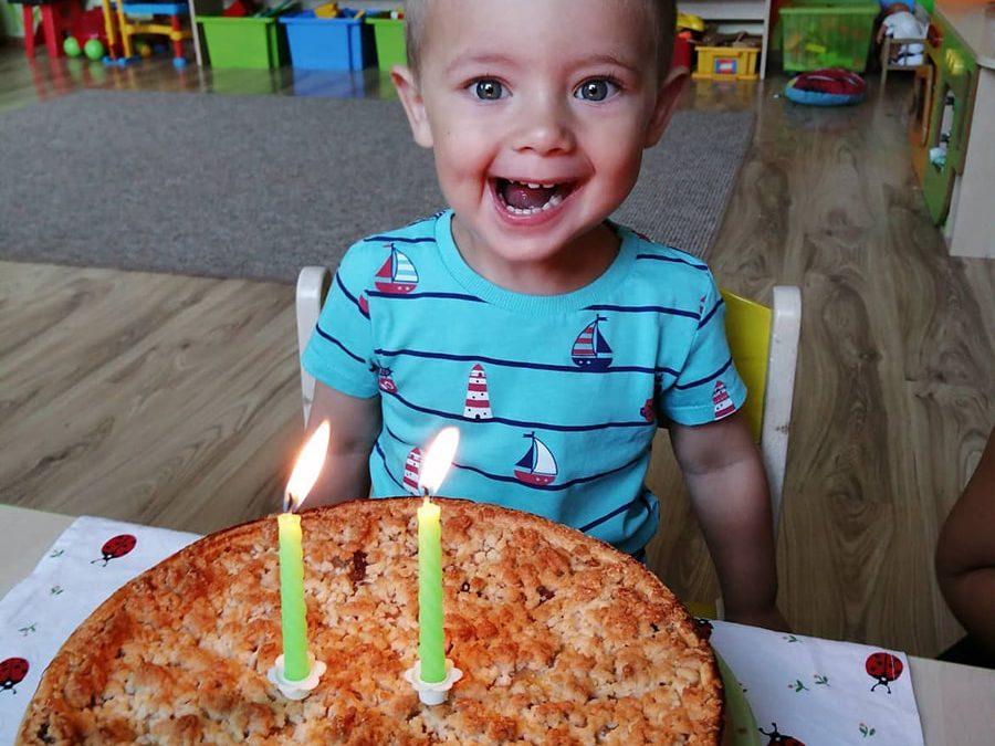 Samko oslávil 2 roky