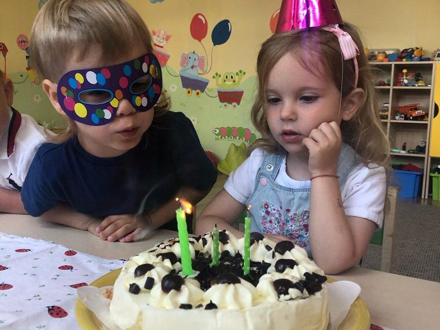 Maxík a Natálka oslavovali narodeniny