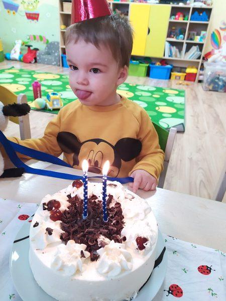 Filipko oslavoval druhé narodeniny