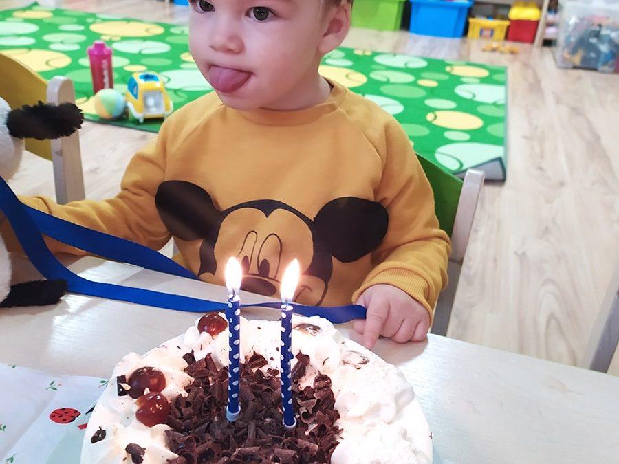 Filipko oslavoval narodeniny