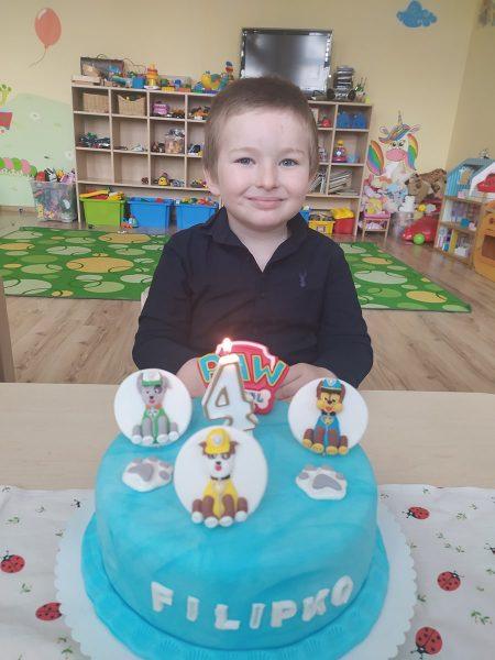 Filipko oslavoval štvrté narodeniny
