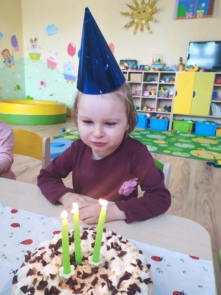 Timejka oslavovala tretie narodeniny